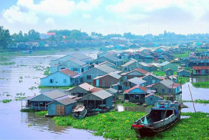 Les villages flottants Chau Doc